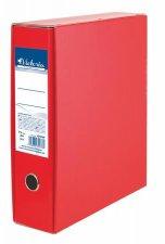 Tokos iratrendező 75mm A4 piros karton Victoria #1