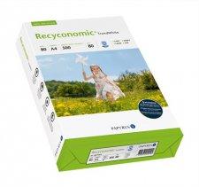 Másolópapír újrahasznosított A4 80g Recyconomic Trend White 80-as fehérség #1