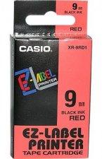 Feliratozógép szalag, 9 mm x 8m Casio, piros-fekete #1