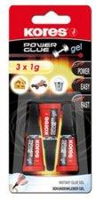 Pillanatragasztógél 3x1g Kores Power Glue Gel #1