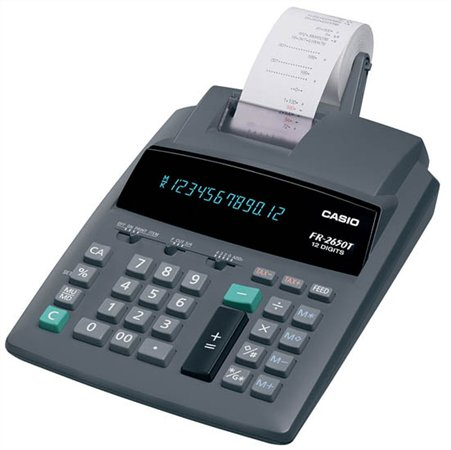 Számológép szalagos 12 számjegy Casio FR-2650 0d0d21cb95