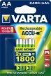 Tölthető elem AA ceruza 2x2400mAh előtöltött Varta Power