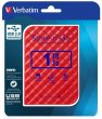 2,5 HDD (merevlemez) 1TB USB 3.0 Verbatim Store n Go piros
