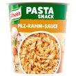 Instant készétel 70g Knorr Snack tészta gombás-tejszínes szósszal