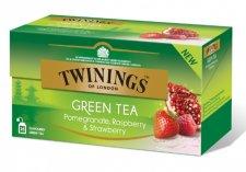 Zöld tea 25x2g Twinings gránátalma málna eper #1