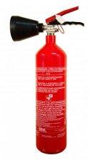Tűzoltó készülék szén- dioxiddal oltó 2kg #1