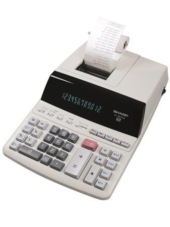 Számológép szalagos 12 számjegy 2 színű nyomtató Sharp EL-2607PGGYSE 007c750ed1